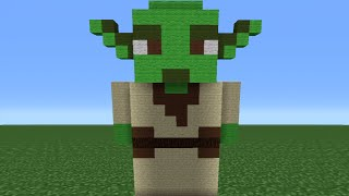 Minecraft Tutorial: How To Make A Yoda Statue