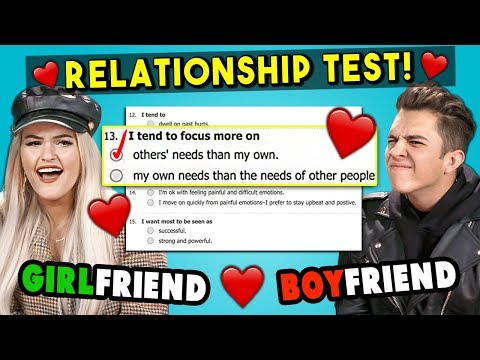 Couples Take A Love Compatibility Test For Valentine's Day (React)