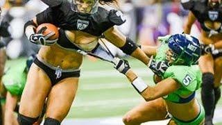 Piękne laski i złamane nosy – kobiety w futbolu amerykańskim wcale się nie oszczędzają!
