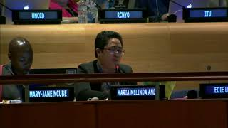 Malyn Ando's intervention at the HLPF 2015: http://webtv.un.org