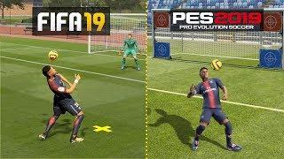 FIFA 19 vs PES 19 : SKILLS COMPARISON