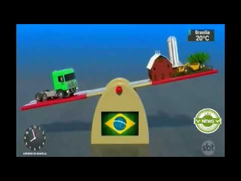 SBT Brasil: Transporte travado e frete indefinido