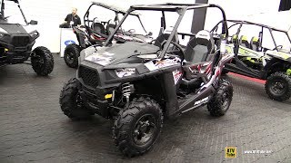 6. 2018 Polaris RZR 900 Side by Side ATV - Walkaround - 2017 Drummondville ATV Show