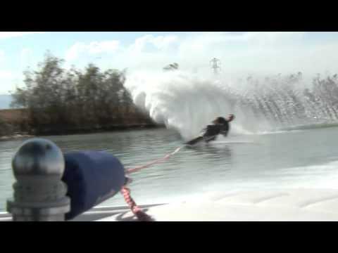 Troy H skiing at Shrimp Farm