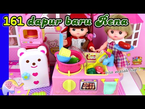 Mainan Boneka 161 Dapur Baru Rena - GoDuplo TV