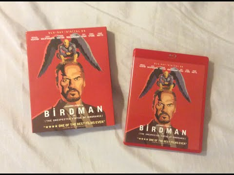 Birdman (2014) Blu Ray Review and Unboxing