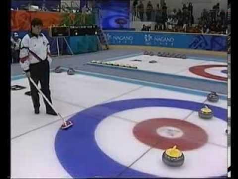 Curling: Nagano Winter Olympics 1998, Canada v Great Britain