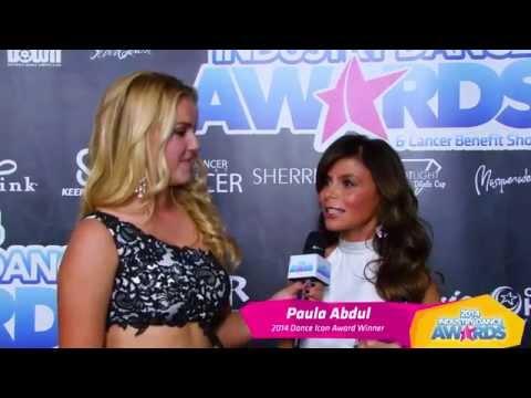 Paula Abdul, IDA Dance Icon Award Winner, on the 2014 Industry Dance Awards Red Carpet