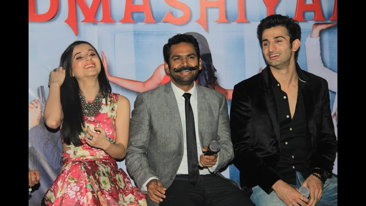 'Badmashiyan' Star Cast Charms at Film's Trailer Launch