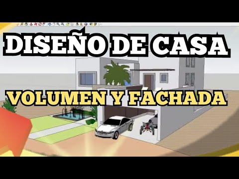V17 dise ar una casa vol men y fachadas for Disenar casas
