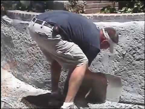 Штамп для бетона видео