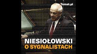 """Stefan Niesiołowski ostro o """"sygnalistach"""""""