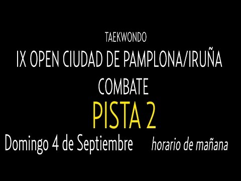 Open Internacional Pamplona. Domingo Pista 2