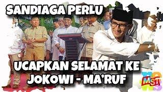 Video Tak Ikut Konpres Prabowo, Sandiaga Perlu Ucapkan Selamat ke Jokowi MP3, 3GP, MP4, WEBM, AVI, FLV April 2019