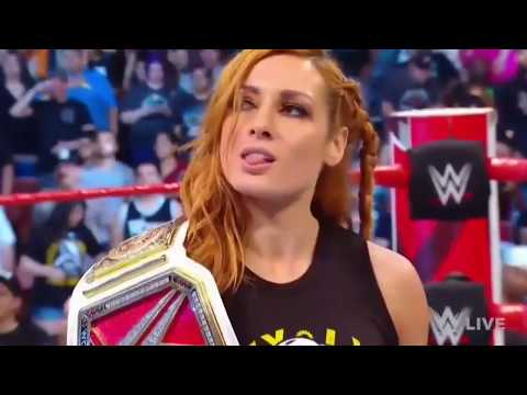 Becky Lynch Uses Stone Cold's Theme Song | KayFabe Entrance