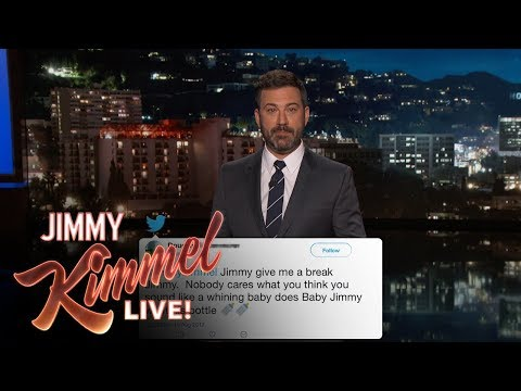 Jimmy Kimmel Reads Mean Comments from Trump
