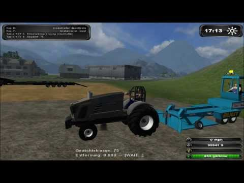 Farming simulator 2011 - tractor pulling NTTO style - FENDT Hurricane