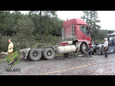 Lageano morre em acidente  na BR-470