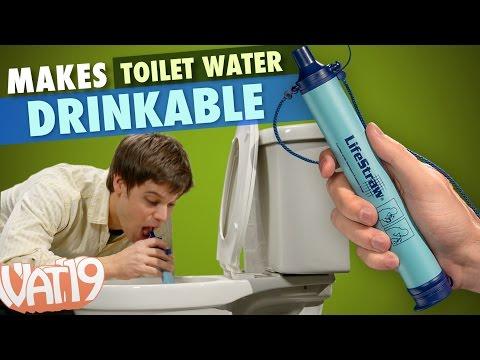 clamorosa invenzione: un tubo di 20cm per depurare l'acqua all'istante