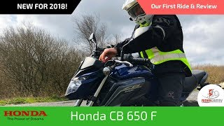 10. 2018 Honda CB650F | Our First Ride and Review