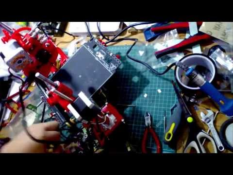 Portabee 3D Printer Kit Assembly Time Lapse