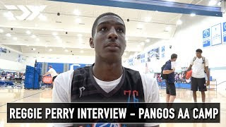 Reggie Perry Interview - Pangos All - American Camp