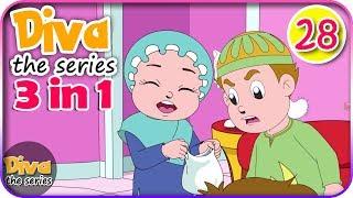 Video Seri Diva 3 in 1 | Kompilasi 3 Episode ~ Bagian 28 | Diva The Series Official MP3, 3GP, MP4, WEBM, AVI, FLV Agustus 2018