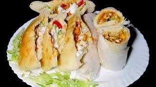 Chicken Shawarma Recipe - Homemade Chicken Shawarma (Complete Recipe)