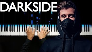 Alan Walker - Darkside | На пианино