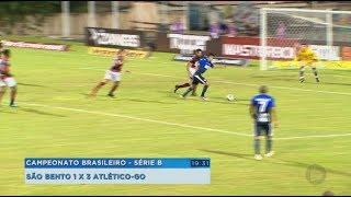 São Bento perde para o Atlético Goianiense na estreia do Brasileirão