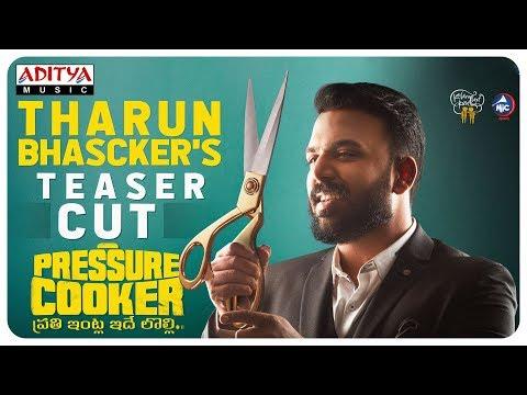 Tharun Bhascker Edits Teaser For Pressure Cooker Movie   Sai Ronak   Preethi Asrani