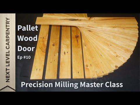 Pallet Wood Door Episode #10 Making Slats