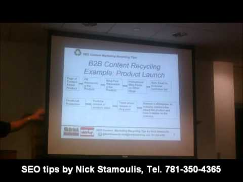 Watch 'YouTube- B2B Content Recycling Tips'