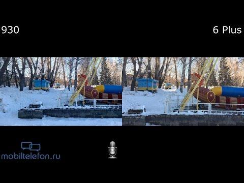 Lumia 930 vs iPhone 6 Plus: сравнение камер на видео (camera comparison) (видео)
