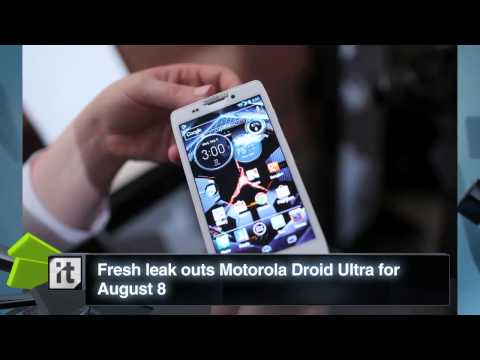 Technology News – Fresh Leak Outs Motorola Droid Ultra For August 8_2