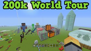 Minecraft Xbox Video World World Tour 200k Special