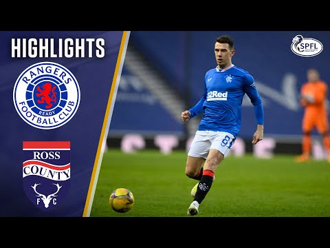 Rangers 5-0 Ross County | 5 Goalscorers in Gerrard's 150th Game in Charge! | Scottish Premiership
