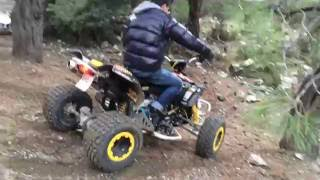 8. Can Am ds 450 Kills The Hill