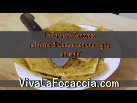 """video ricetta: dalla tradizione ligure la """"farinata"""""""