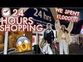 24 HOURS SHOPPING & I SPENT £1,000!!!! 24 HOUR CHALLENGE