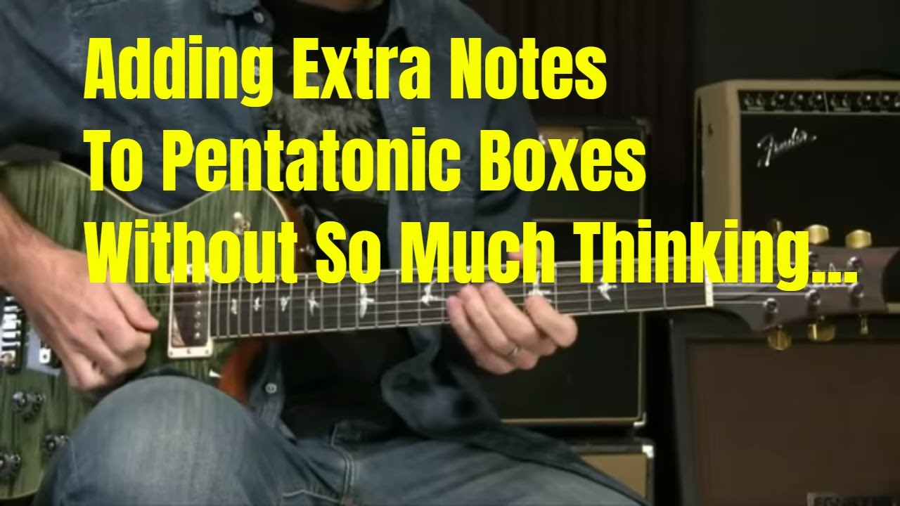 [Live] Blues Scales/Lead Guitar Lesson – Adding Notes To The Pentatonic Scale Without Thinking