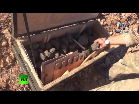Shows - Islamic State has published a new video in which a jihadist shows off brand-new American hardware, which was purportedly intended for the Kurds they are fighting in the Syrian border town of...