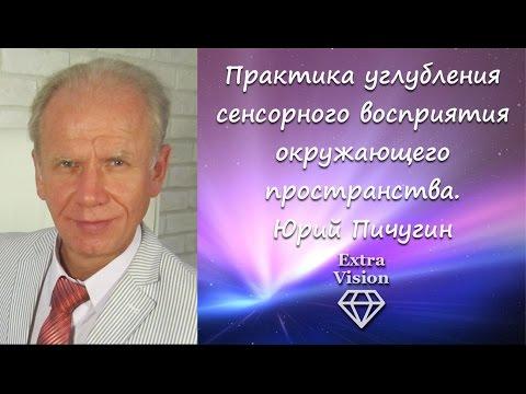 Практика углубления сенсорного восприятия окружающего пространства. Юрий Пичугин.