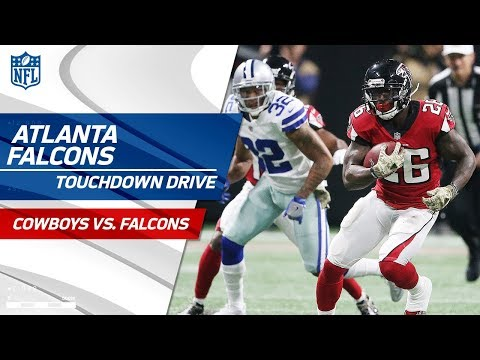 Video: Atlanta Opens Up the Lead w/ Big Plays on TD Drive! | Cowboys vs. Falcons | NFL Wk 10 Highlights