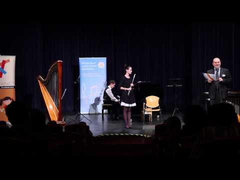 Adj teret a tehetségnek! 2013 - Baross Ádám (zongora) és Keszei Johanna (fuvola) produkciója