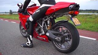 10. Ducati 999  - Termignoni exhaust sound!