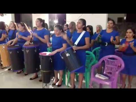 Grupo de Percussão Renovação - Assembleia de Deus - Governador Newton Bello-MA