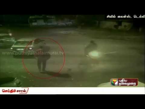 Hit-and-run-case-at-Delhi-caught-on-CCTV-camera