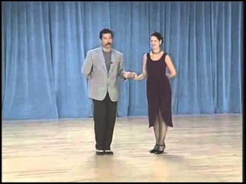 основные фигуры аргентинского танго - 11 Cross system basic(4 часть)