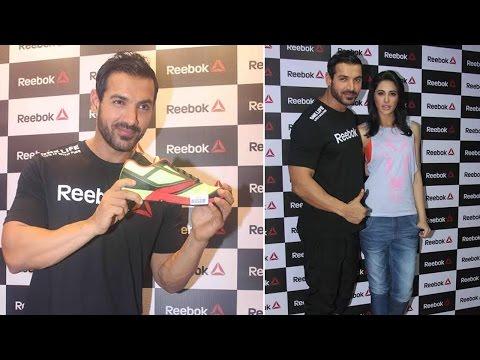 John Abraham & Nargis Fakhri launch Reebok Fithub store